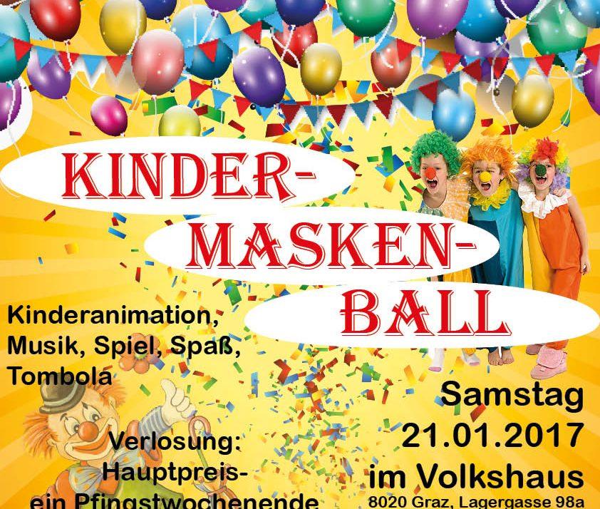 Kindermaskenball Graz