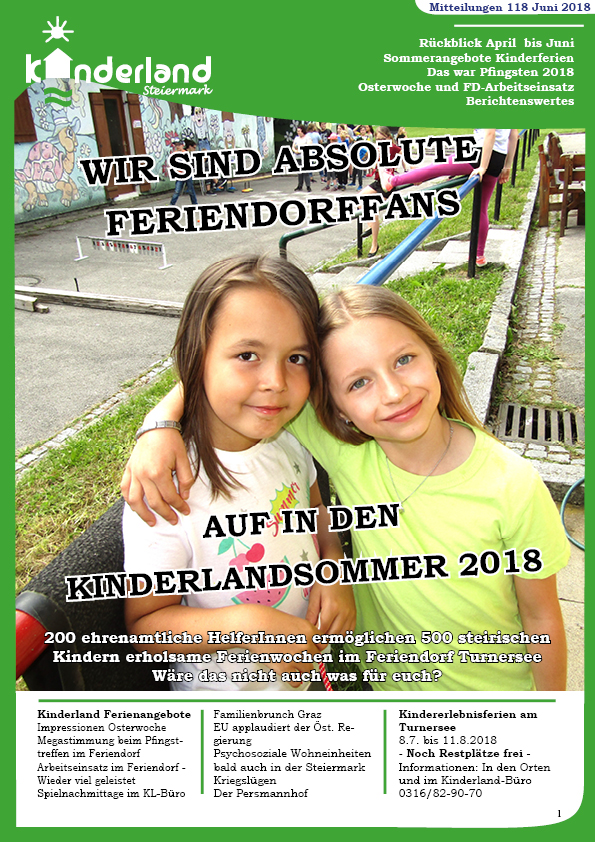 Kinderland Zeitung #118